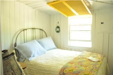 North Eastham Cape Cod vacation rental - Bedroom #2- Full-sized bed.  Sunny in day, Cool at night.