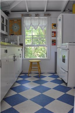 North Eastham Cape Cod vacation rental - Kitchen newly remodeled with classic cottage charm.