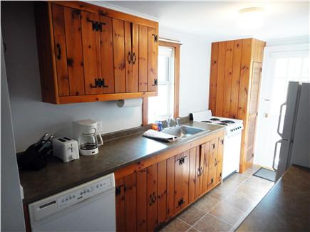 Chatham Cape Cod vacation rental - Traditional Cape Cod  woodwork in the newly updated kitchen