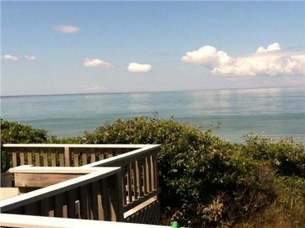 Eastham Cape Cod vacation rental - View of the Bay from the deck
