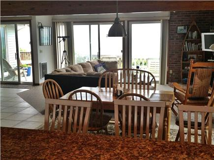 Eastham Cape Cod vacation rental - Open dining and living area of the Great Room