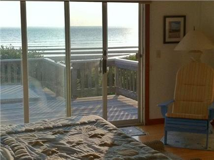 Eastham Cape Cod vacation rental - 1st Floor Master bedroom with king bed, deck and water views
