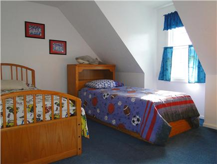 South Yarmouth Cape Cod vacation rental - Twin bedroom upstairs