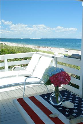 East Sandwich Cape Cod vacation rental - Surrounded by decks to watch the sea on one side
