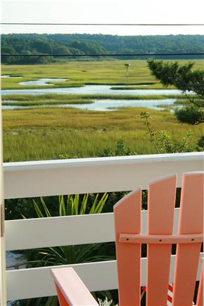 East Sandwich Cape Cod vacation rental - and the dynamic saltmarsh on the other