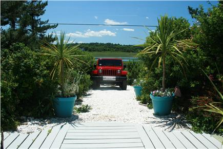 East Sandwich Cape Cod vacation rental - and views of the beach roses and marsh