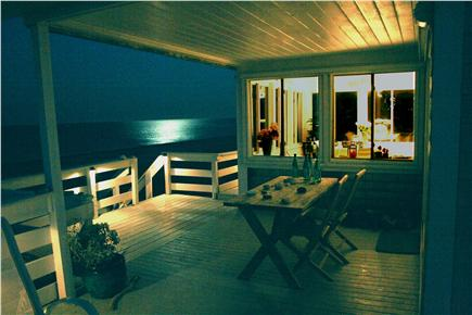 East Sandwich Cape Cod vacation rental - and lit to please your eye