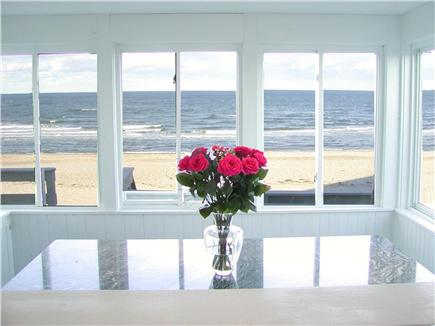 East Sandwich Cape Cod vacation rental - There you will find this as your view from your dining room