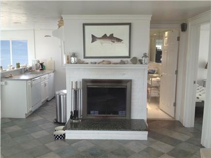 East Sandwich Cape Cod vacation rental - The open airy cottage is complete with a beautiful wood fireplace