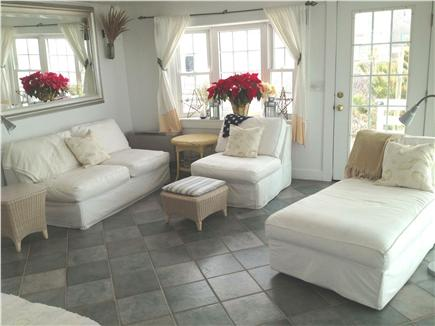 East Sandwich Cape Cod vacation rental - comfortable living room