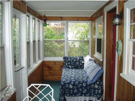 Ellisville MA vacation rental - Glass/Screen Porch with Daybed
