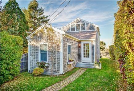 Barnstable Cape Cod vacation rental - The street view of the private and serene house (during Fall)