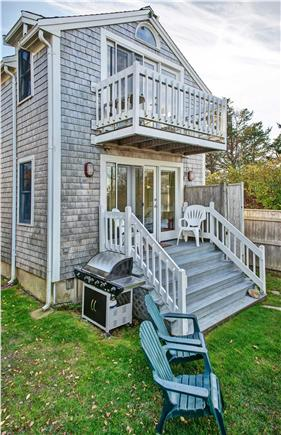 Barnstable Cape Cod vacation rental - Ocean side of house (during Fall season)