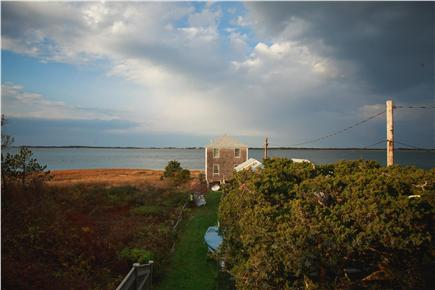 Barnstable Cape Cod vacation rental - Walk a few steps (30 seconds) along grass to reach private beach