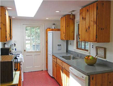 North Eastham Cape Cod vacation rental - Full kitchen w skylight