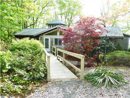 Mashpee Cape Cod vacation rental - Ramp, go directly from +8 car driveway to front door, No stairs!