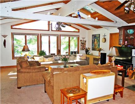 Mashpee Cape Cod vacation rental - Great Room view from kitchen