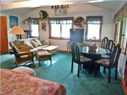Mashpee Cape Cod vacation rental - Master bdrm 1,  20' x 25', table to write your memoirs, couch
