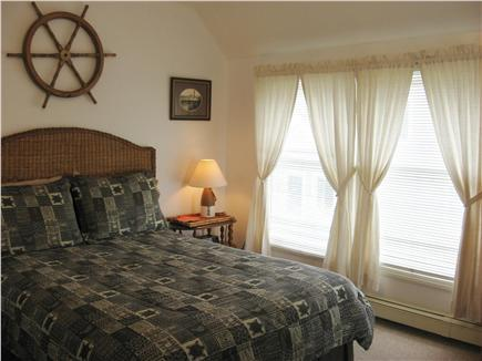 West Yarmouth Cape Cod vacation rental - Full upstairs bdrm. w/View of Bay & large, lit closet.