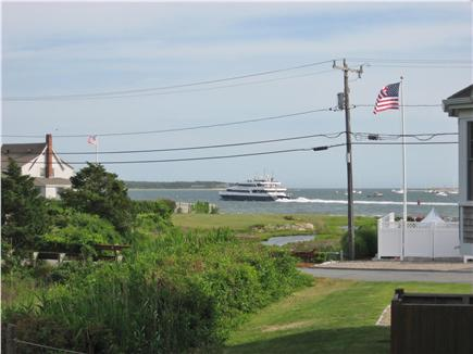 West Yarmouth Cape Cod vacation rental - Enjoy your favorite beverage & Great View of the Bay on the deck!