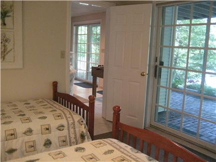 Brewster Cape Cod vacation rental - Downstairs Twin Bedroom