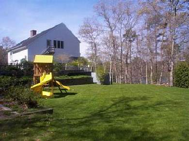 Brewster Cape Cod vacation rental - Huge grass side yard wtih play structure