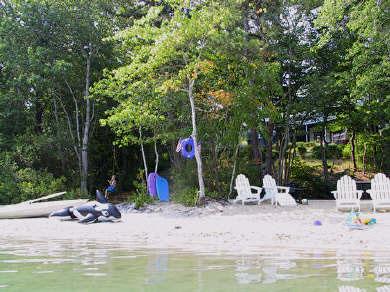 Brewster Cape Cod vacation rental - Sandy backyard beach directly on Sheeps Pond