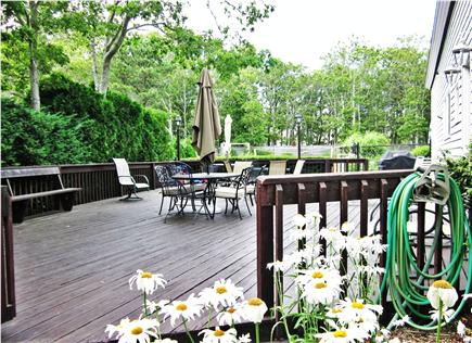 New Seabury New Seabury vacation rental - Great for entertaining on the outside deck with BBQ & back yard.
