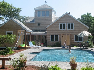 New Seabury New Seabury vacation rental - Private, Heated In-Ground salt water pool, fully fenced in