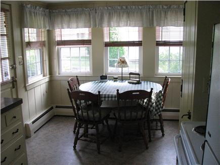 West Dennis Cape Cod vacation rental - Cozy/sunny eating area