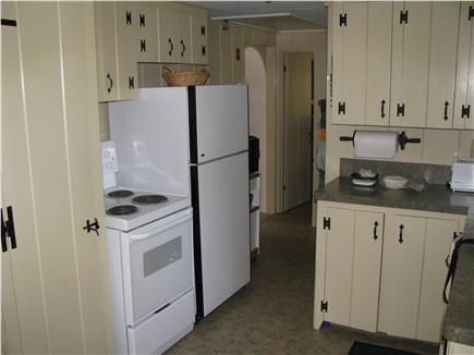 West Dennis Cape Cod vacation rental - Partial kitchen view from eating area