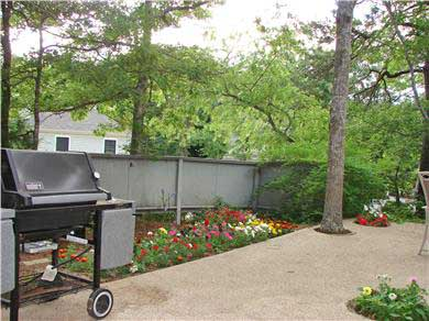 New Seabury New Seabury vacation rental - The front Patio with a never ending BBQ (continuous Gas Supply)