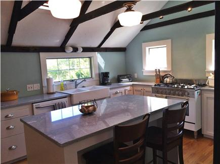 Chatham Cape Cod vacation rental - Kitchen with Granite island and all new appliances