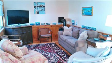 Cotuit Cotuit vacation rental - Air Conditioned Family Room w/ Pull out F/Q Couch