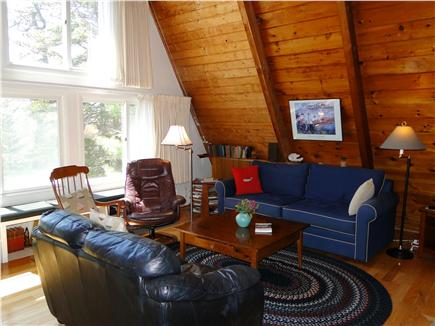 S. Chatham Cape Cod vacation rental - Bright living room with seating for 6+,  & hardwood floors
