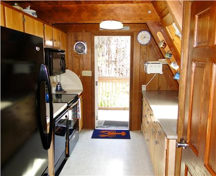 S. Chatham Cape Cod vacation rental - Fully equipped kitchen, with DW & fridge with icemaker.