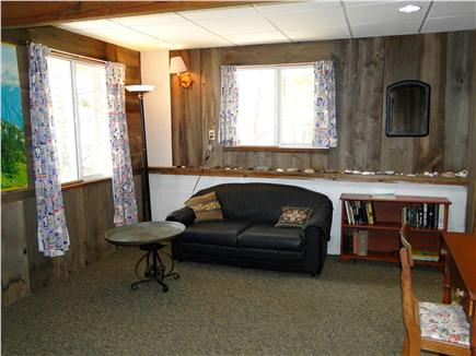 S. Chatham Cape Cod vacation rental - Ground level play area with bunk beds & full bath
