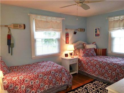 West Dennis Cape Cod vacation rental - Second Bedroom (Twins)