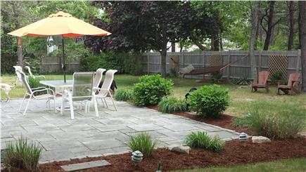 West Dennis Cape Cod vacation rental - Most popular room! Fenced, Grill, outdoor shower and Hammock