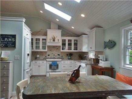 West Dennis Cape Cod vacation rental - Kitchen; Well appointed with microwave, toaster oven, etc