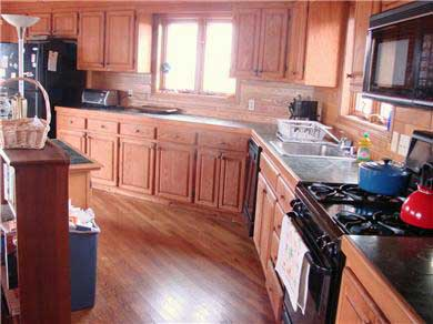 North Truro Cape Cod vacation rental - kitchen