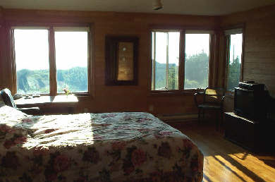North Truro Cape Cod vacation rental - Master Bedroom (second floor), a view of Provincetown