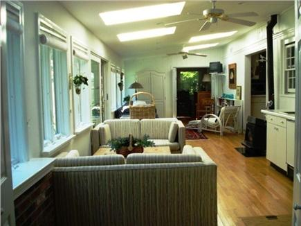 West Yarmouth Cape Cod vacation rental - 40 FT Sunroom with wetbar