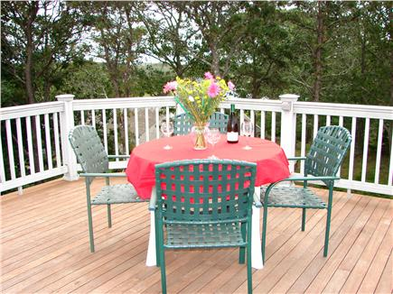 Chatham Cape Cod vacation rental - Upper deck with room for twelve to sit and relax