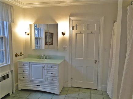 Chatham Cape Cod vacation rental - Newly refinished Master bath with two showers, tub, new vanity