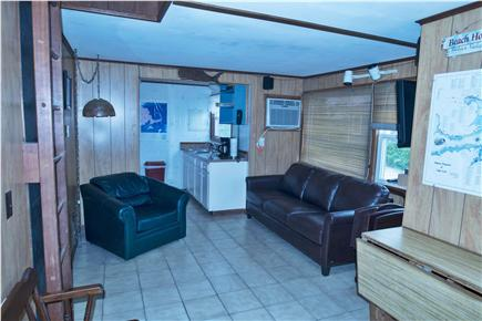Eastham Cape Cod vacation rental - Living room & kitchen