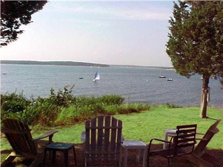 North Falmouth (Megansett) Cape Cod vacation rental - Back yard  views are water, birds and beach. Bring binoculars.