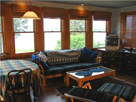 North Falmouth (Megansett) Cape Cod vacation rental - Read a book, watch TV, play  board games in the family room