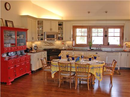 North Falmouth (Megansett) Cape Cod vacation rental - Wide open beautiful kitchen w/ dining area and upscale appliances