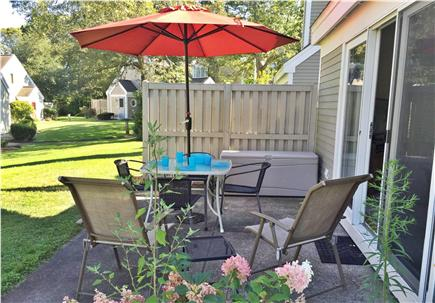 Brewster Cape Cod vacation rental - Patio offers a great spot for outdoor dining